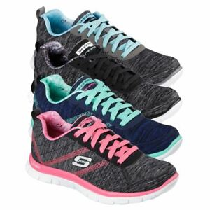 LADIES SKECHERS FLEX APPEAL-PRETTY CITY LIGHTWEIGHT WOMENS WALKING SHOES