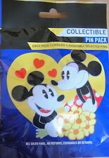 Disney Collectable Couples Mystery Pin Pack Contains 5 Randomly Selected Pins