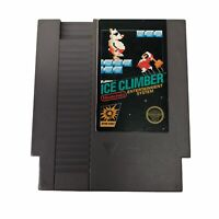 Ice Climber Nintendo Nes Cleaned & Tested Authentic