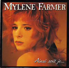 MYLENE FARMER AINSI SOIT JE... / (LAMENTATIONS) FRENCH 45 SINGLE