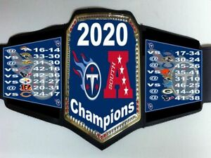 Tennessee Titans 2020 AFC South Division Champions Championship Belt