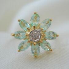 1.59ct Certified Paraiba Tourmaline & Diamond Gold Ring