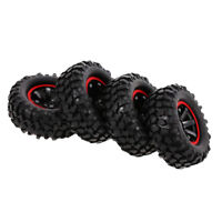 "96mm Rubber Tires Tyres 1.9"" Wheels for 1/10 RC Rock Crawler Buggy Car Parts"
