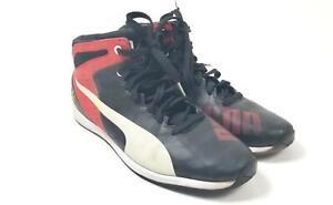 Puma Ferrari Speedtrack Official Red High Top Racing Men's Shoes Size 11 U.S