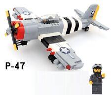 World War 2 US Republic P-47 Thunderbolt fighter plane WW2 WWII aircraft jet