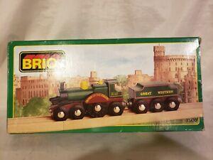 Genuine Brio #33430 Vintage Lord of The Isles Train of the World Series NIB