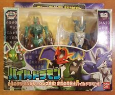 Rare Japanese Bandai Digimon DNA Digivolving Paildramon ExVeemon Stingmon Figure