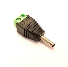Stecker 3.5mm x 1.3mm x 10mm Dc Jacke Schnell Fix Kein Löten Schraubklemme