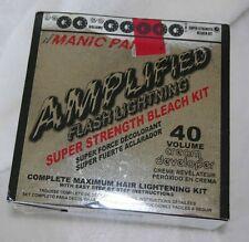 Manic Panic Amplified Flash Lightning Bleach Kit 40 Volume Punk NIB