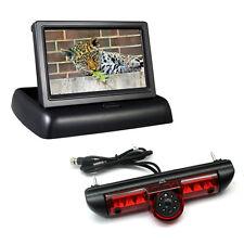 """4.3"""" Monitor & LED Brake Light Van Reverse Car Camera For Ducato, Relay & Boxer"""