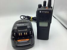 Motorola Xts1500 Digital Portable Two Way Radio H66ucd9pw5bn With Impres Charger