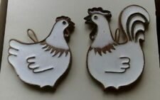 Ceramic Decorative Studio Pottery Wall Plaques