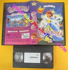VHS film CENERENTOLA animazione STARDUST S 12178/2 favole belle (F140) no dvd