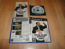 TOTAL CLUB MANAGER 2004 CON VICENTE DEL BOSQUE PARA LA SONY PS2 EN BUEN ESTADO