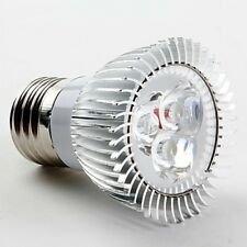 E27 3x1W LED SPOTLIGHT BULB LAMP 3W HIGH POWER SMD DAY COOL WHITE CE RoHS LS 1