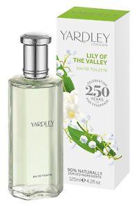 Yardley Maiglöckchen Eau de Toilette 125 ml Parfüm EdT Parfum Lily of the Valley