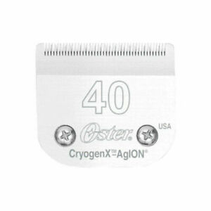 Oster Pro Cryogen-X AgION A5 Clipper Series - Size 40 Detachable Blade 78919-016