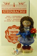 "Steinbach German Wooden Nutcracker Chubby ""Dorothy� S1580 Signed New"