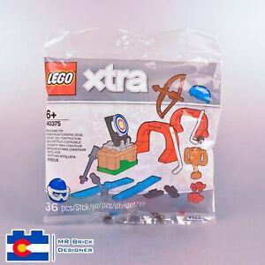 LEGO 40375 XTRA Sports ACCESSORIES POLYBAG Brand New NIB Hockey Ski Archery