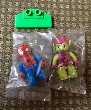 Lego Duplo 10608 Spider-Man and Green Goblin Lot Of 2 New!