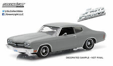 1:43 F&F Dom's 1970 Chevrolet Chevelle SS LMTD Fast & Furious Greenlight #86227