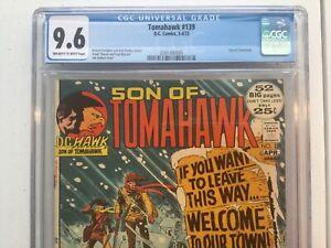 DC 1972 Son of Tomahawk 139 CGC 9.6 Joe Kubert Frank Frazetta