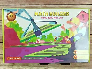 Logic Roots Math Builder Board Game Think, Build, Plan, Win New  Sealed Age 8+