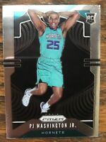 PJ Washington 2019-20 Panini Prizm SP Variation Rookie RC #258 Charlotte Hornets