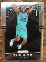 PJ Washington 2019-20 Panini Prizm SP Variation Rookie RC #258 Charlotte Hornets