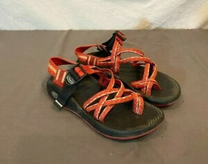 Chaco ZX/2 Red Waterproof Amphibious Sport Sandals US Women's 6 Fast Shipping