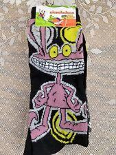 NEW! Nickelodeon Real Monsters Socks Men's Shoe Size 6-12 Two Pair Package