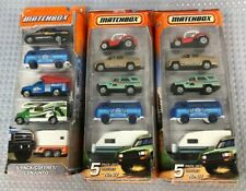 Collection Of 3 Matchbox Diecast Vehicle Cars Multi Packs By Mattel #461