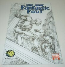 Fantastic Four #546 Comic Marvel VARIANT Michael Turner Sketch Wizard World