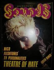 Sounds Juli 1982 (TV Personalities, Fleshtones,, Theatre of Hate, Nico, Syreeta)