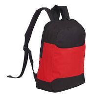 Rainproof Padded Backpack Rucksack School Travel Bag Adjustable Shoulder Strap