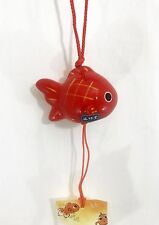 風鈴 FURIN - Cloche à vent - Poisson Rouge -  Import Japon