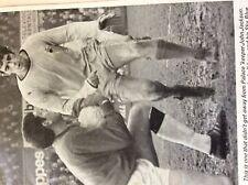 m3g ephemera 1970 football picture crystal palace john jackson john o'rourke