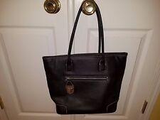 VICTORIA SECRET Large Black  Handbag Purse Tote