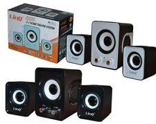 Casse Usb Altoparlanti Pc Speaker 2.1 Home Theatre System Linq Q21