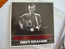 Davy Graham FOLK BLUES & BEYOND + 5 BONUS (Decca 1965 Album)  RARE UK IMPORT