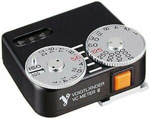 Voigtländer Belichtungsmesser universal (VC-meter II) schwarz