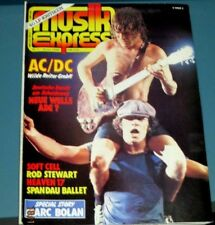 AC/DC   musik Express  magazine -   january 1982