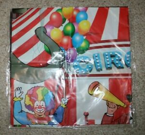Circus Carnival Tent Huge 9'w Backdrop Photo Prop Nursery Wall Mural Party Decor