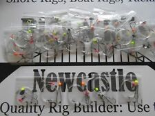 Sea fishing Rigs x 25 heavy winter pulleys - big hooks - Professional Sea Rigs