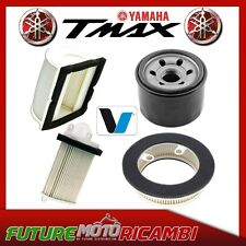 KIT TAGLIANDO OIL AIR FILTER YAMAHA T-MAX 500 BLACK MAX NIGHT MAX FILTRI ARIA