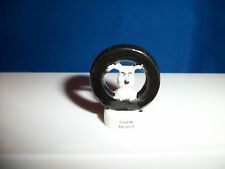 IDEFIX DOGMATIX DOG Single Miniature Figure ASTERIX French Porcelain FEVES 2000