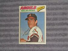 NOLAN RYAN- TOPPS Cloth Sticker Card- #40- 1977