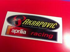AKRAPOVIC Aprilia Adesivo resistente al caloreOld