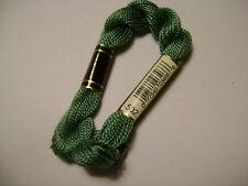 DMC coton perlé N° 5 pour la grosseur et 502 pour la couleur, long 25 mètres