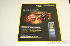 2008 Jeff Gordon Sprint Cup Mobile Chevy Impala NASCAR thinstock handout